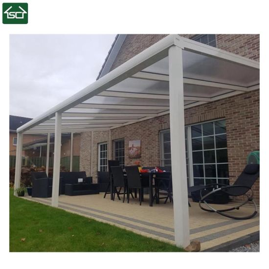 China Steel Aluminum Patio Roof Canopy With Polycarbonate Cover China Patio Cover Terrace Cover