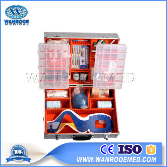 Medical Rescue Cabinet Portable Practical Camping Car Travel Emergency First Aid Kit