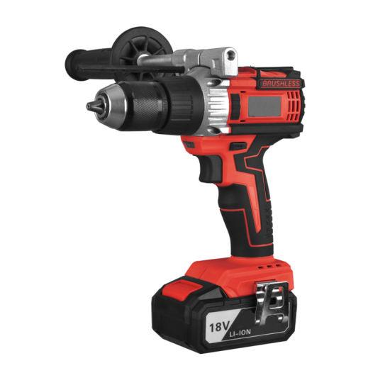 18V Li-ion Battery Electric Drill 13mm