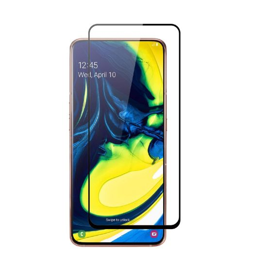 5D/6D/10d Full Glue Tempered Glass Screen Protector for Samsung Galaxy A80 / A90 Screen Protector