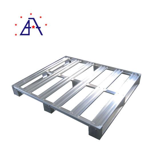 Stackable Heavy Duty Shipping Weld Aluminum Pallet