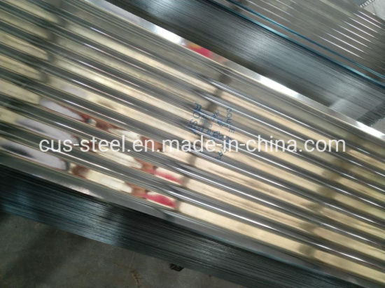 Bwg 32 PPGI/Galvanized Corrugated Sheets for Roofs and Cladding pictures & photos