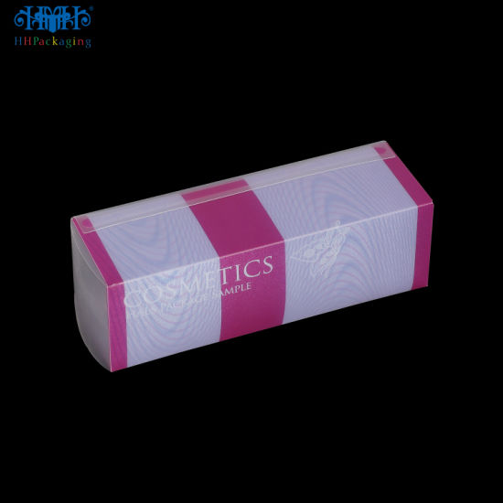 Wholesale Custom Clear Frosted Plastic PP/Pet/PVC Cosmetic Box (packing box)