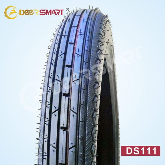 Best Price Size 2.50-18 Pattern Ds111 Tube Type Motorcycle Tire