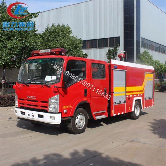 Low Price HOWO Dongfeng Isuzu Ftr Mini 4X2 6m3 Water 2m3 Foam Water Tank Fire Fighting Truck Resuce Fire Engine Truck Price Fire Truck for Sale