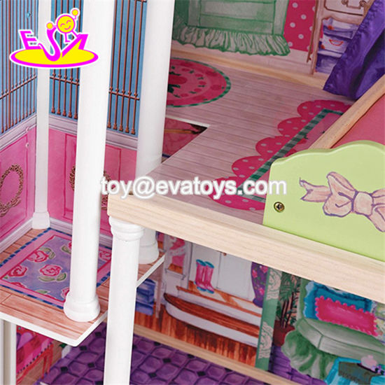 New Style 14 Furniture Pieces Children Luxury Wooden Toy Dream Cottages W06A225 pictures & photos