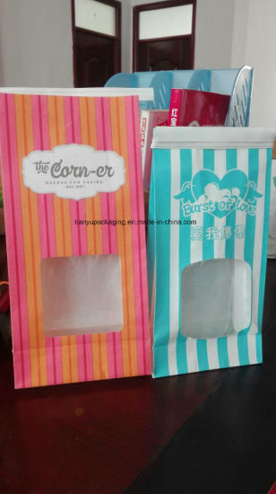 Popcorn Bag Food Grade Packaging Bag Paper Bag for Popcorn pictures & photos