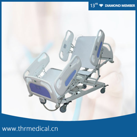 Professional ICU 5 Function Electric Hospital Bed (THR-IC-04)