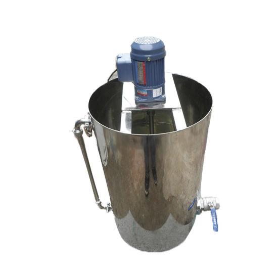 Chemical Mini Viscosity Dosing Mixing Tank Asphalt Liquid Mixer Agitator