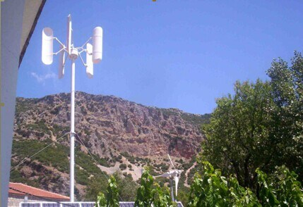 15kw Vertical Axis Wind Turbine/Wind Generator pictures & photos