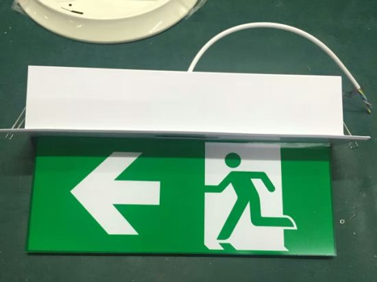 High Quality China Emergency Light Emergency Lamp LED Commercial Exit Sign pictures & photos