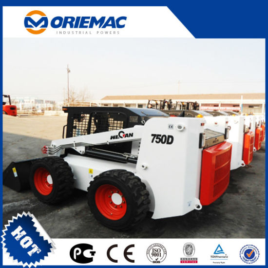 China 800kg Loading Capacity Skid Steer Loader with Low Price
