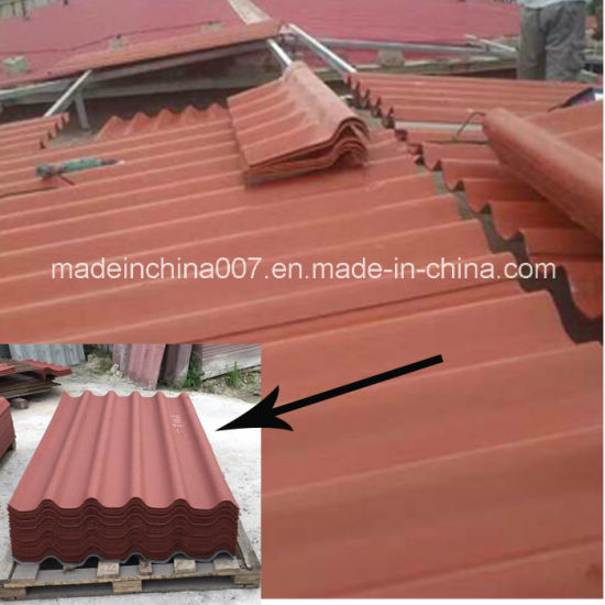 New Profile Six Fiber Cement Corrugated Roofing Sheet Namibia Market