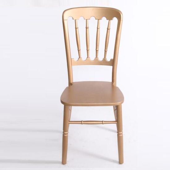 Wooden Wedding Event Napoleon Cau Chairs