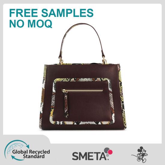 Personality Contrast Color Versatile Handbag Fashion Lady Crossbody