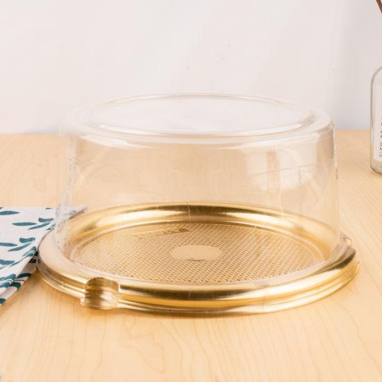 High Quality Custom Logo Clear Pet Blister Packaging Plastic Cake Box