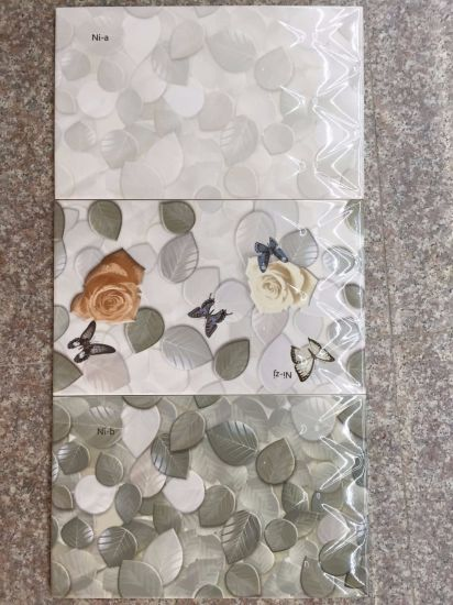 Anti-Slip 3D Inkjet Printing Ceramic Wall Tile with Tooling Design pictures & photos
