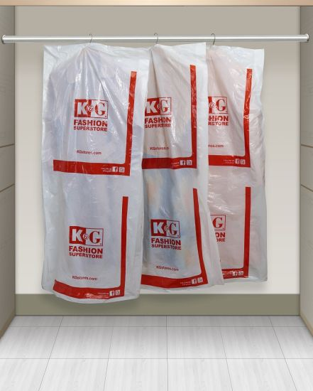 High Quality Wholesale Plastic Cloth Garment Bag in Roll pictures & photos