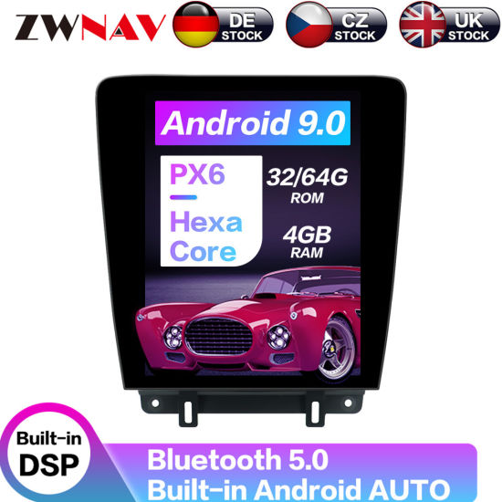 Car GPS DVD Player Tesla Radio for Ford Mustang 2010 2011 2012 2013 2014 Android Multimedia Player Auto Stereo Head Unit WiFi