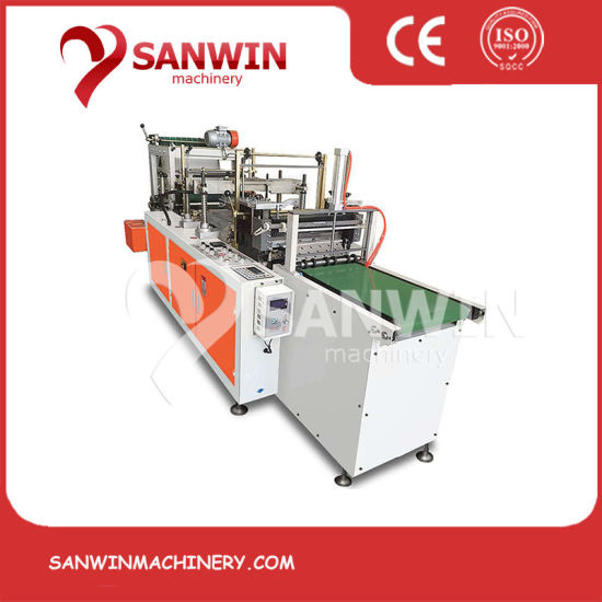 China Double-Layer High Speed PE HDPE LDPE Plastic Disposable Film Gloves Making Machine