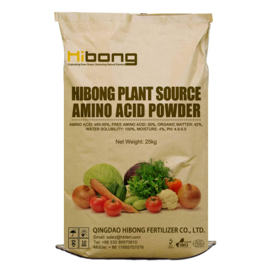 Chloride Free Amino Acid Powder, Amino Acid Plant Source