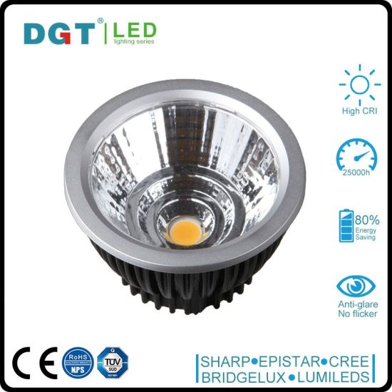Black Frame 6W Retrofit LED MR16 Module Bulb