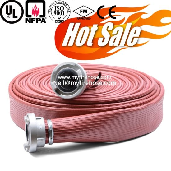 Canvas Fire Sprinkler Flexible Durable PU Pipe