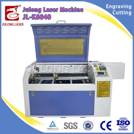 50W 60W 80W 100W Jl-K6040 CO2 Laser Engraving Cutting Machine for Non-Metal