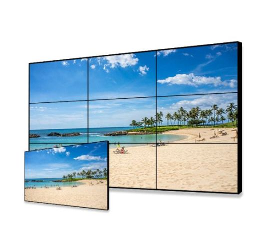 49 Inch Did LED 4K Seamless Wall Mounted Video Display with Samsung or LG Narrow Bezel LCD Video Wall pictures & photos