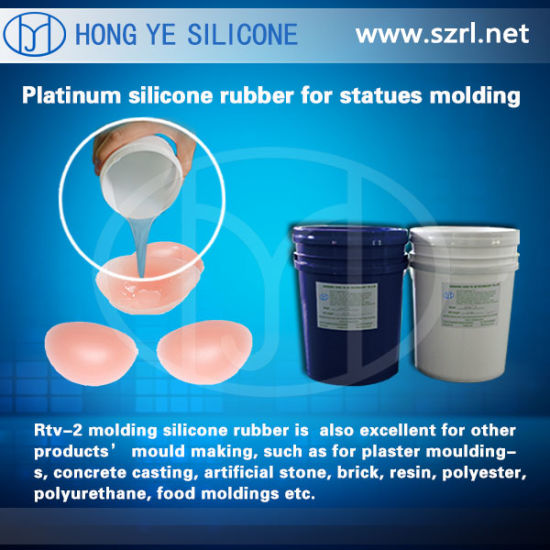 Life Casting Silicone Rubber for Making Women Breast pictures & photos