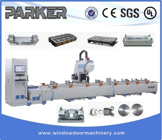 Stainless Steel Three Axis CNC Milling Drilling Machine Center pictures & photos