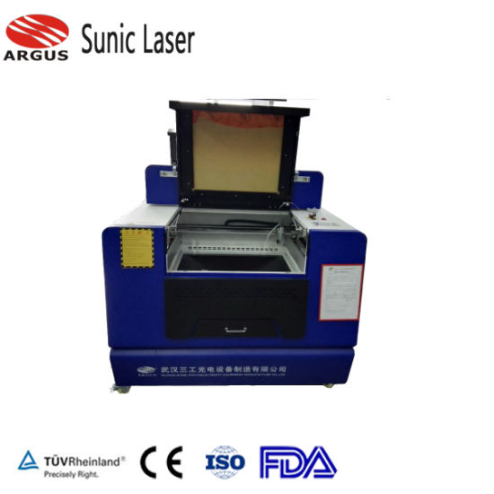 China Small Size Laser Engraving Machine For Paper Wedding Card