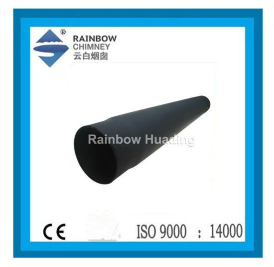 Carbon Steel 1000mm Straight Chimney Pipe