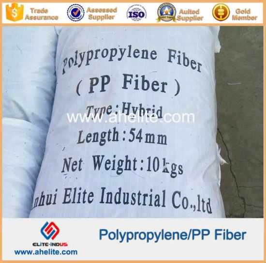 Polyvinyl Alcohol PVA Monofilament Fabrillated Polypropylene PP Fiber Fibre pictures & photos