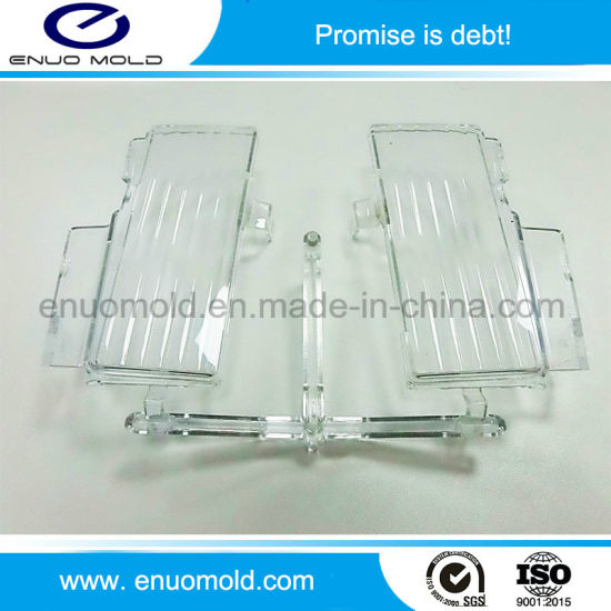 China Transparent Auto Lamp Injection Part Plastic Injection