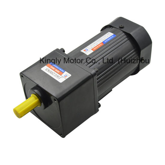 120W 110V 220V Single Phase AC Brake Speed Control Gear Motor pictures & photos