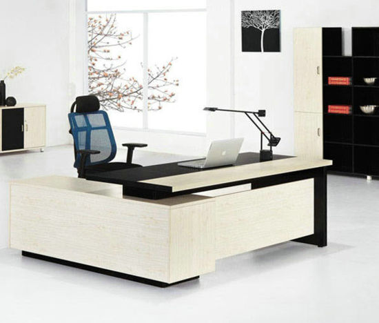 China Office Furniture Designs Modern Boss Office Desk White Sz Odt628