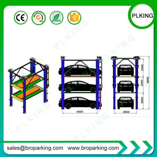 China Vertical Lifting Mechanisms Car Stacking Parking System