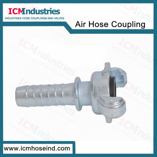Carbon Steel Us Hose End with Collar Claw Coupling