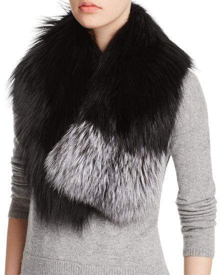 2017 Newest Designs High Quality Women Faux Fox Collars