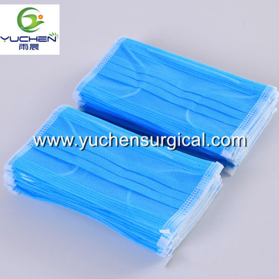 Disposable Non-Woven Surgical Facemask Workshop Cleanroom Facemask