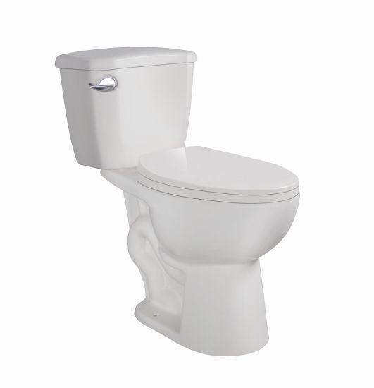 Cupc American Model Siphon Two Piece S-Trap 300mm Ceramic Toilet