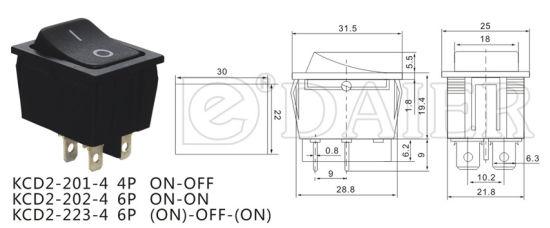 China Cheapest 16A Rocker Switch 250V T125 R11 Without Light - China ... ba1f085a06d