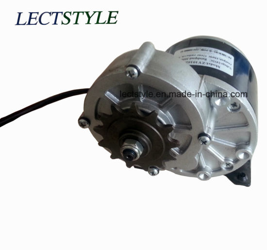 24V 200W 300W DC Worm Gear Motor for Electric Mobility Scooter and Golf Trolley pictures & photos