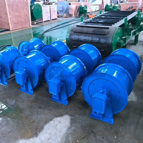 Spring Driven Cable Reel Drum