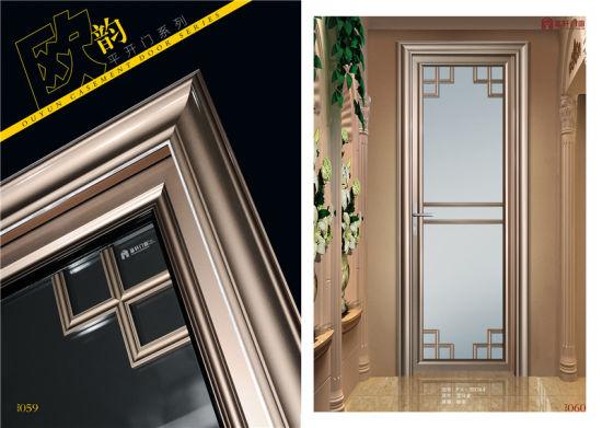 China Australian Standard Double Glazing Interior Aluminum Casement