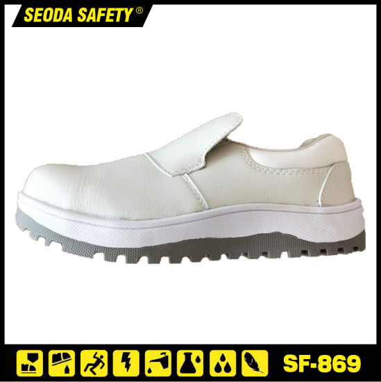 Super Anti Slip Safety Shoes with Rubber Outsole / Better Than Src