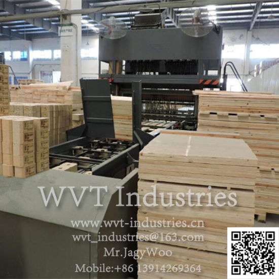 Safe Hydraulic Automatic European Epal Wood Pallet Production Line American Standard Palletwood Plywood Palletwood Packing Case Board