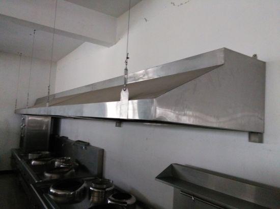 China Commercial Stainless Steel Restaurant Range Hood