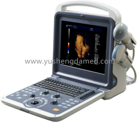 Ysd900A Full Digital 4D Color Doppler Handheld Diagnostic Ultrasound Equipment pictures & photos